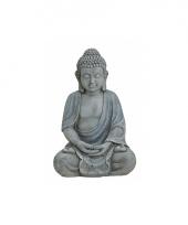 Decoratie beeld boeddha 31 cm trend