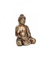 Decoratie beeld boeddha 36 cm trend