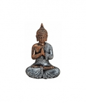 Decoratie beeld boeddha type 2 18 cm trend