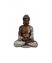 Decoratie beeldje boeddha 24 cm trend