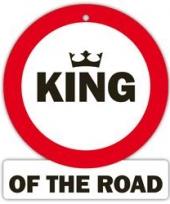 Decoratie bord met zuignappen king trend