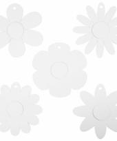 Decoratie bruiloft bloemen van karton 100x trend