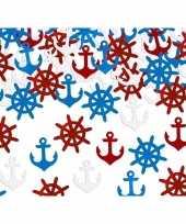 Decoratie confetti maritiem thema 14 gram trend