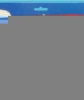 Decoratie mini vlaggenlijn belgie 60 cm trend