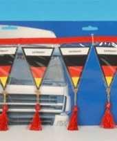 Decoratie mini vlaggenlijn duitsland 60 cm trend