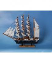 Decoratie miniatuur zeilschip trend 10060108