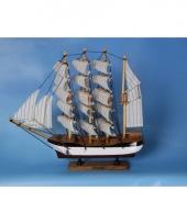 Decoratie miniatuur zeilschip trend 10060109