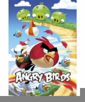 Decoratie poster angry birds trend
