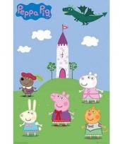 Decoratie poster peppa pig 61 x 91 5 cm trend