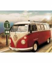 Decoratie poster vw campers californie trend