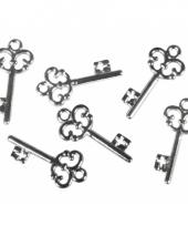 Decoratie sleutels 24 stuks trend