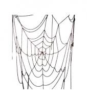 Decoratie spinnenrag web 100 cm trend