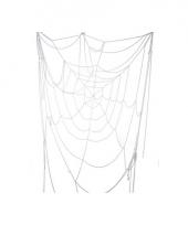Decoratie spinnenrag web 110 cm trend