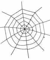 Decoratie spinnenweb groot 150 cm trend