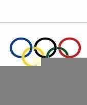 Decoratie vlaggen olympische spelen trend 10102023