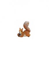 Decoratief eekhoorn beeldje 7 cm type 2 trend