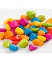 Decoratieve stenen neon kleuren 8 10 mm trend