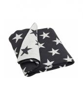 Deken plaid met sterren 152 cm trend