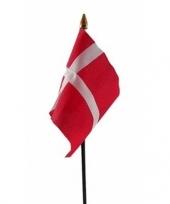 Denemarken vlaggetje met stokje trend