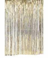 Deurgordijn slinger goud 100 x 200 cm trend