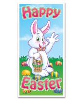 Deurposter happy easter 76 x 150 cm trend