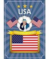 Deurposter united states of america trend