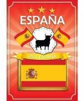 Deurposter viva espana rood trend