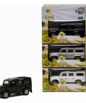 Diecast land rover autootje 20 cm trend 10072532