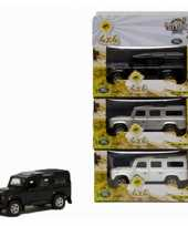 Diecast land rover autootje 20 cm trend