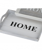 Dienblad home wit 38 cm trend