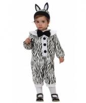 Dieren baby pakje zebra trend