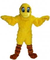 Dieren kostuum mascotte eend trend