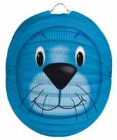Dieren lampion zeehond 22 cm trend