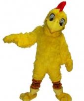 Dieren mascotte kostuum kip trend