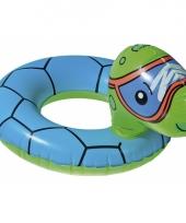 Dieren zwembanden schildpad trend