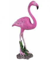 Dierenbeeld flamingo 32 cm trend