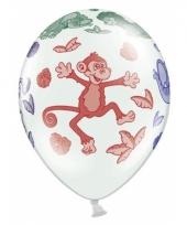 Dierentuin dieren ballonnen 6 stuks trend