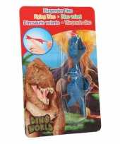 Dino world mini dino katapult t rex blauw trend