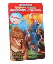 Dino world mini dino katapult triceratops blauw trend