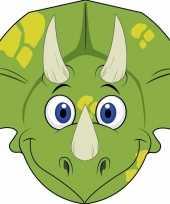 Dinosaurus maskers van karton trend
