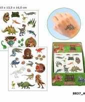 Dinosaurus plak tattoos voor jongens dino world trend