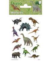 Dinosaurus stickers 3 stickersvellen trend