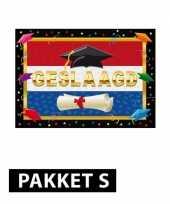 Diploma behaald versiering pakket trend
