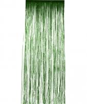 Disco folie deurgordijnen groen trend