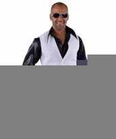 Disco gilet wit voor heren trend