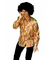 Disco kleding heren blouse trend