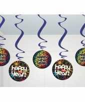 Discobollen hangdecoratie nieuwjaar trend