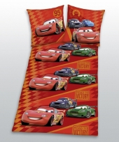 Disney cars dekbedovertrek jongens 135 x 200 cm trend