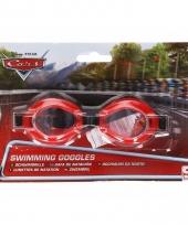Disney cars kinder zwembril rood 3 tot 12 jaar trend