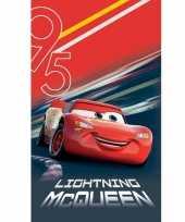 Disney cars lightning mcqueen badlaken strandlaken 70 x 120 cm trend